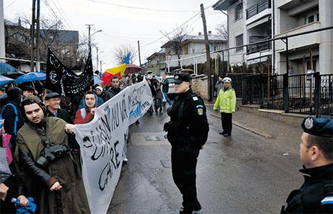 protest anti-chevron barlad