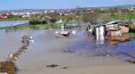 Inundatiile din Bârlad, scãpate de sub control din cauza unei piese metalice furate de tigani